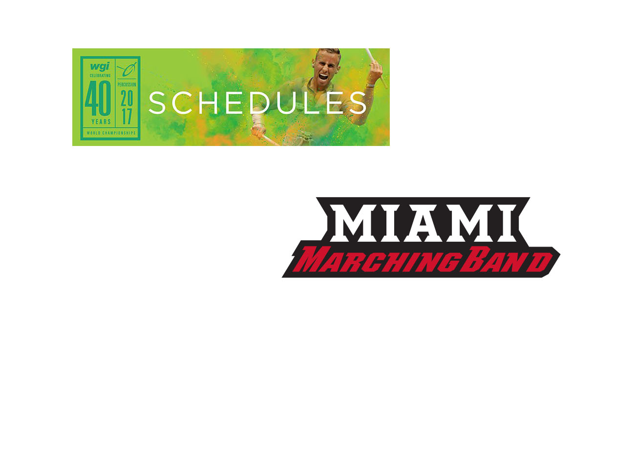Miami Hosts Winter Guard International