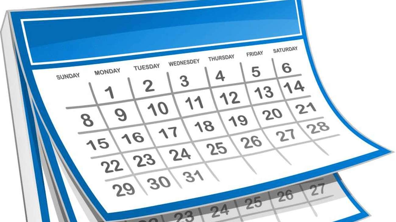 2016 Pre-Season Schedule