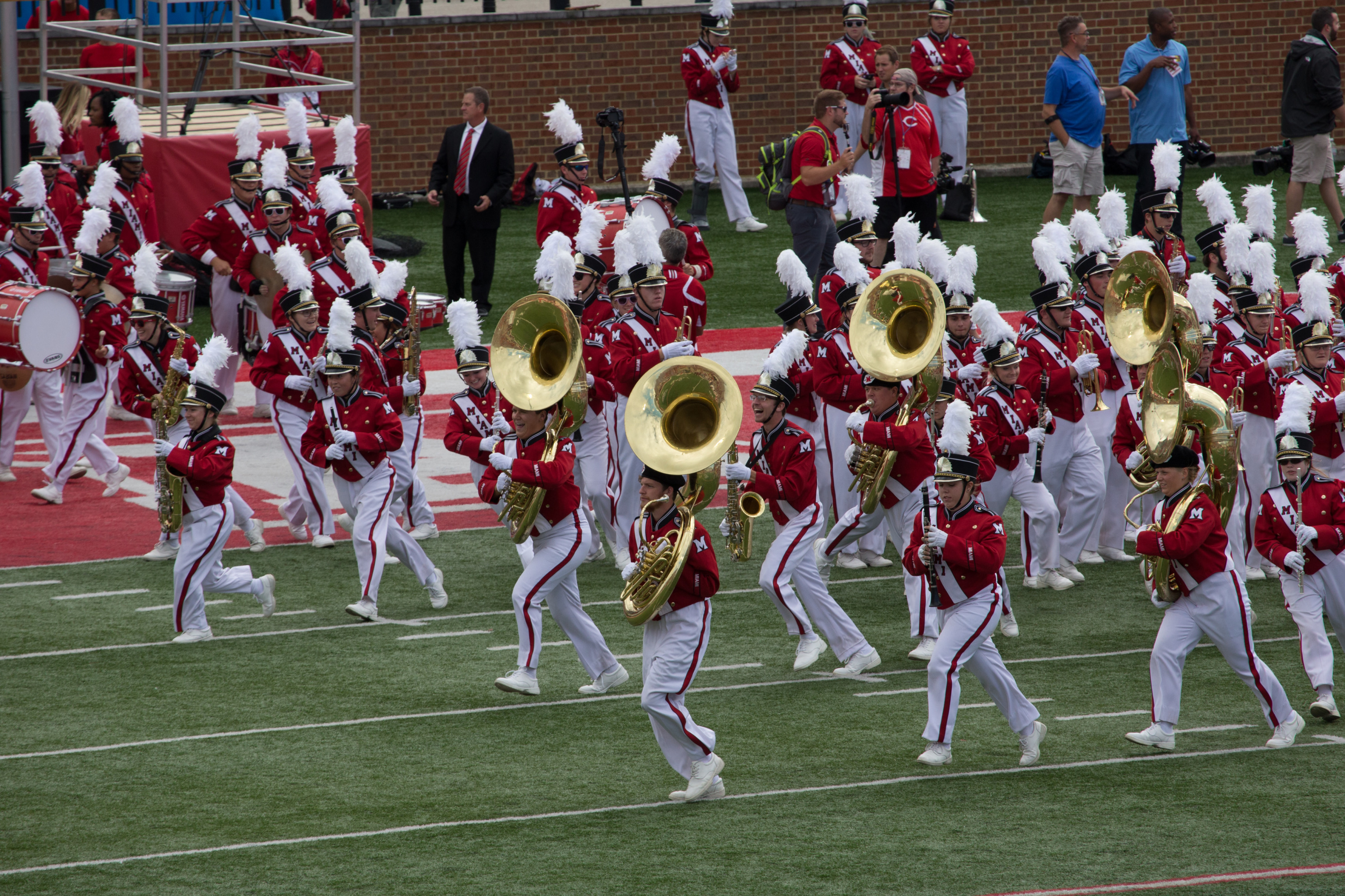 MUMB Inaugural Honor Marching Band