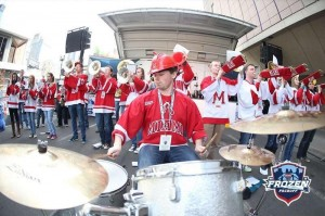 pep band drumset