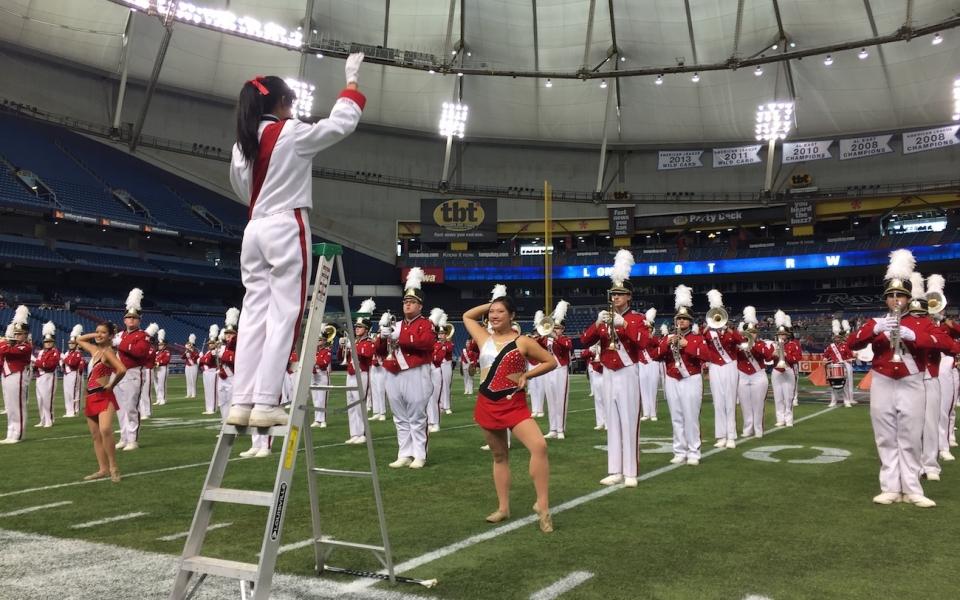 MUMB Attends St. Petersburg Bowl